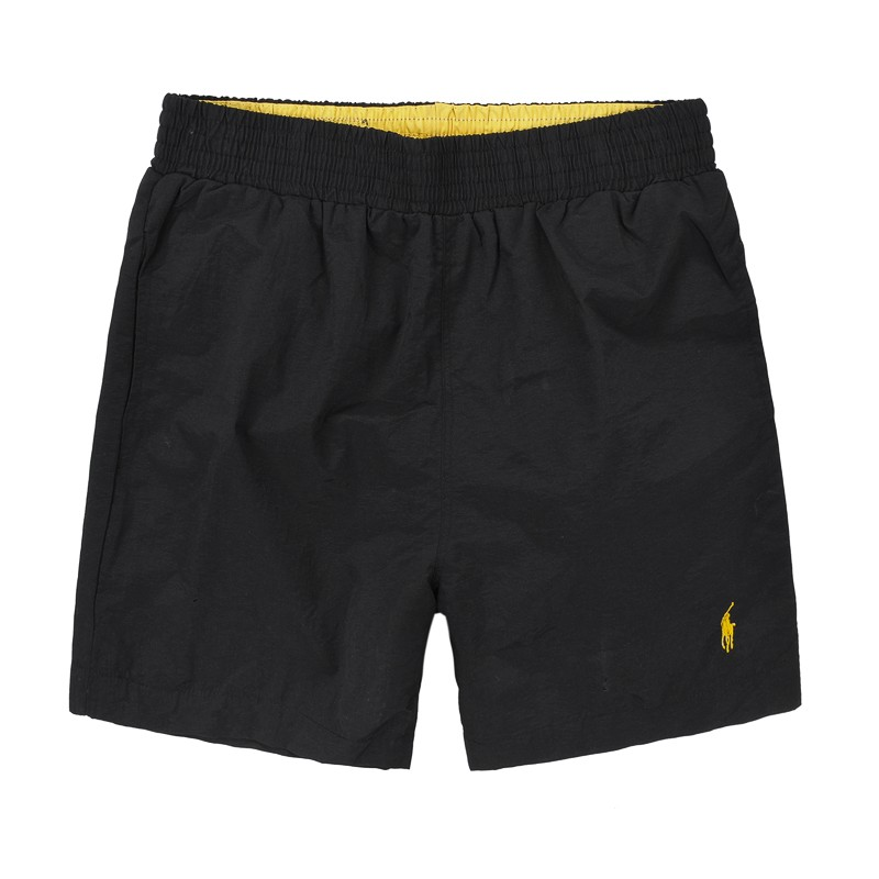 2013 polo ralph lauren shorts hommes new style polo france noir jaune plpo 7074. Black Bedroom Furniture Sets. Home Design Ideas