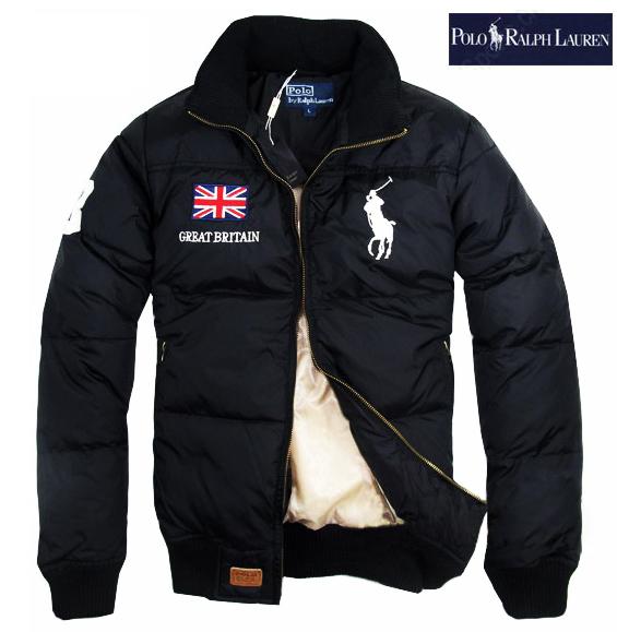 498fabf68df47 polo ralph lauren doudoune pas cher big pony hiver nouveau noir ...