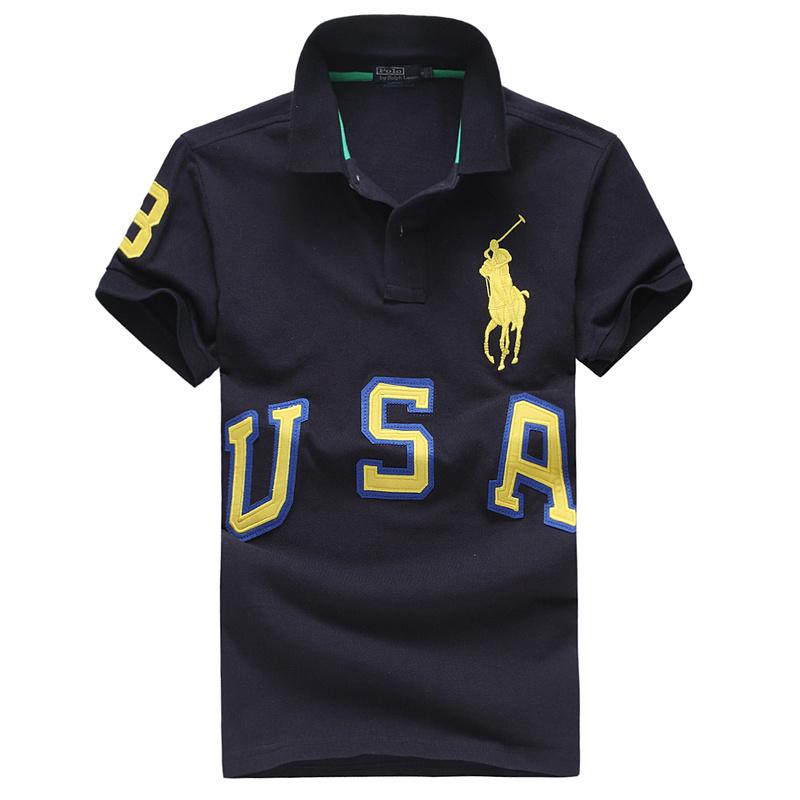 ralph lauren usa shop High collar T shirt POLO Ralph Lauren cool 2013 man ...