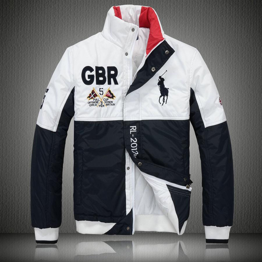 45101d231939 74.00EUR, manteau hommes polo ralph lauren doudoune 2013 chaud big pony  racing gbr noir blanc