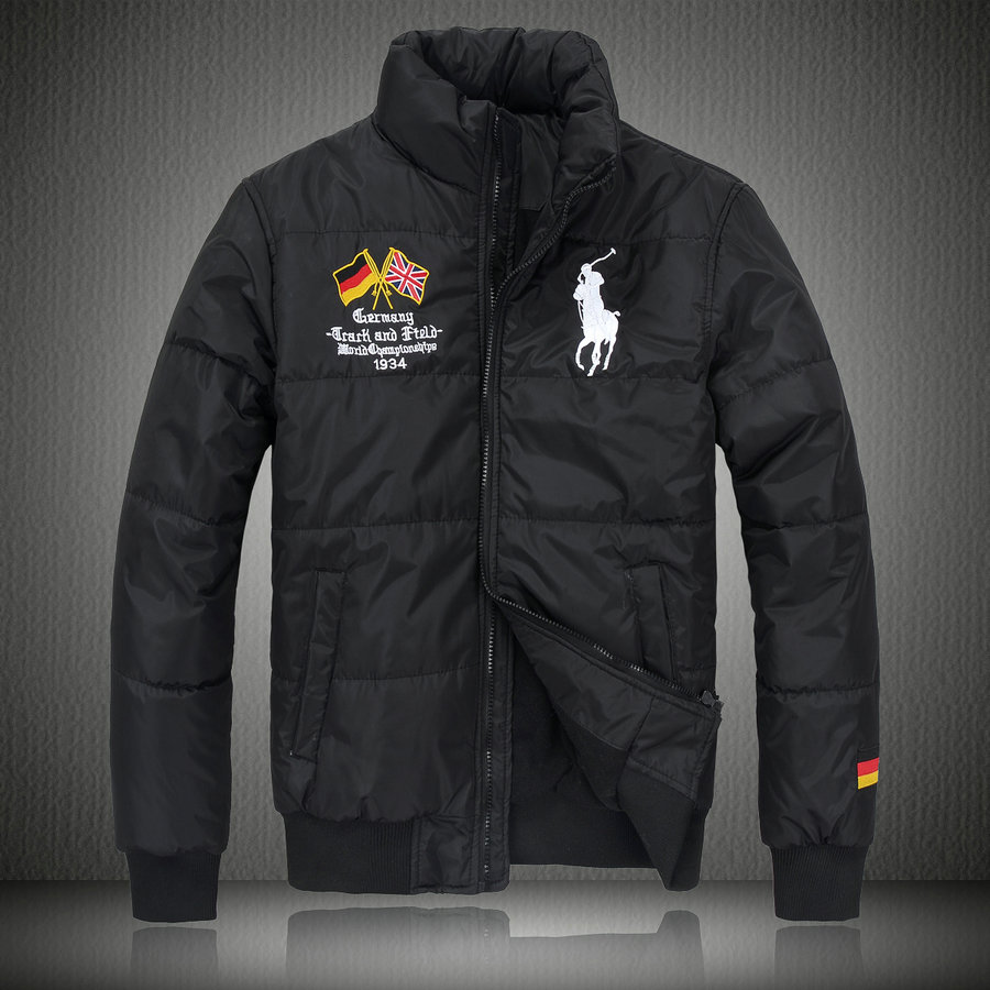 manteau hommes polo ralph lauren doudoune 2013 chaud big pony drapeau national allemagne noir. Black Bedroom Furniture Sets. Home Design Ideas