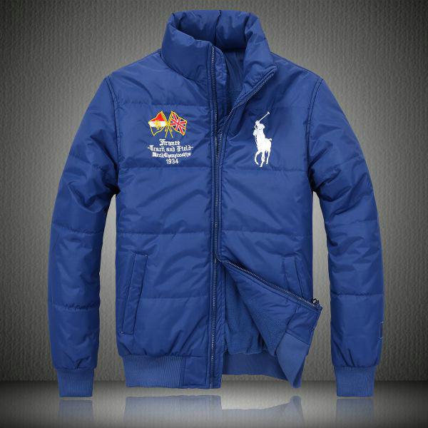 5eb406577ea25 manteau hommes polo ralph lauren doudoune 2013 chaud big pony drapeau  national france bleu