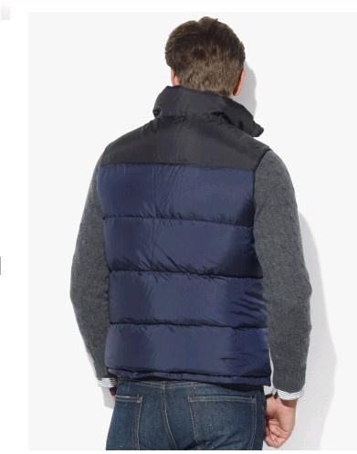 new style polo ralph lauren veste sans manches 2013 hommes polo italie bleu plpo 6876. Black Bedroom Furniture Sets. Home Design Ideas
