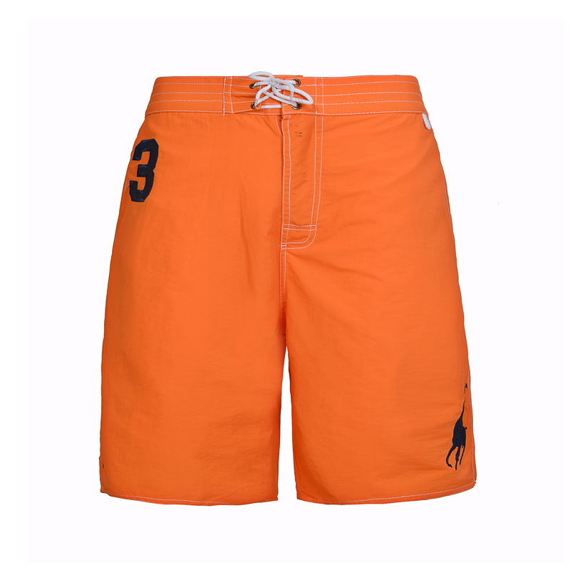 polo ralph lauren shorts de bain big pony single orange. Black Bedroom Furniture Sets. Home Design Ideas