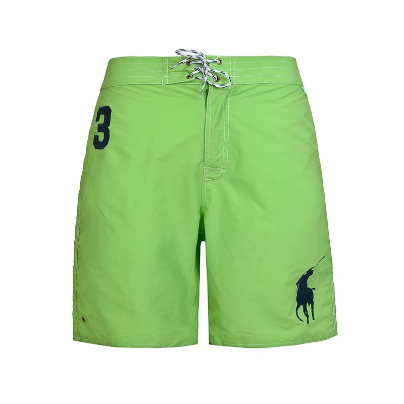 polo ralph lauren shorts de bain big pony single vert. Black Bedroom Furniture Sets. Home Design Ideas