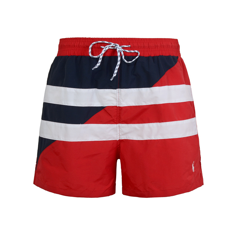 polo ralph lauren shorts de bain big pony two line red plpo 8393. Black Bedroom Furniture Sets. Home Design Ideas