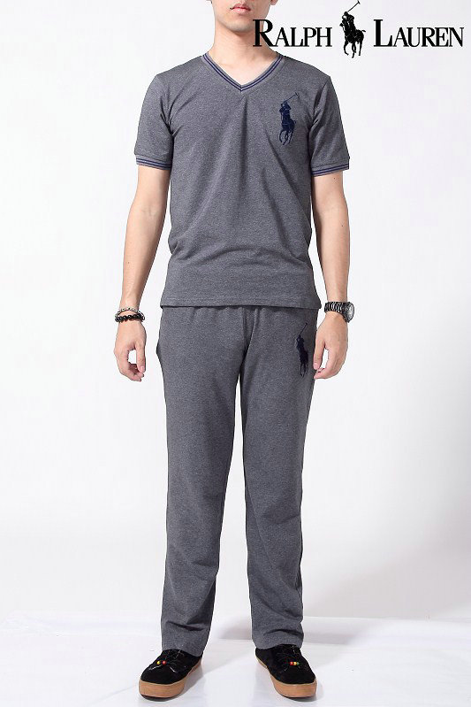 39.00EUR, ralph lauren survetement summer cotton hommes 2013 new style polo  trousers gray eea347cd8ab8