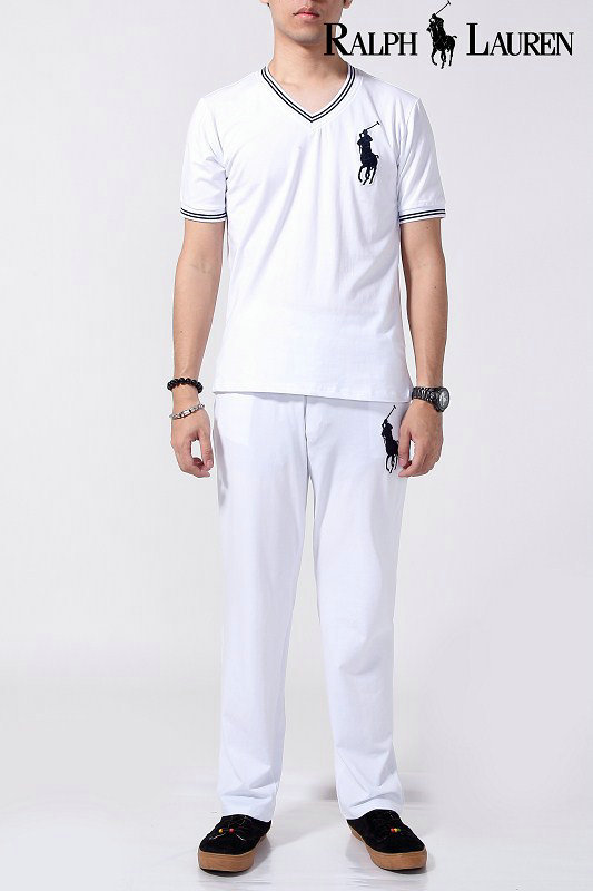 ralph lauren survetement summer cotton hommes 2013 new style polo trousers  white f1a39a52a6af