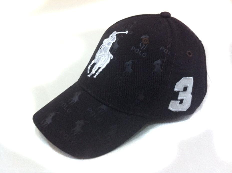 99063ce406d casquette polo ralph lauren sport plus de poney blance pony noir