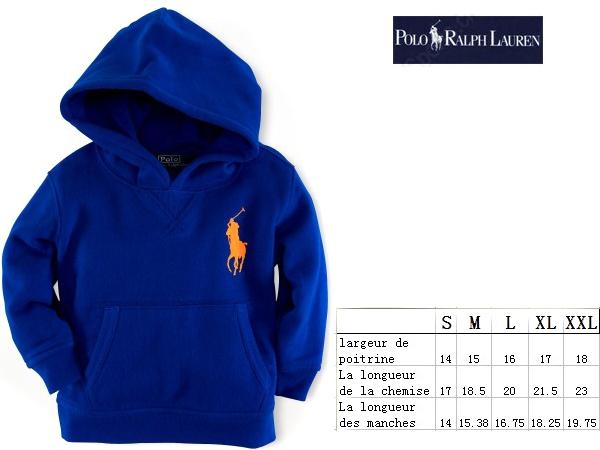 39.90EUR, polo ralph lauren veste enfants coton bleu pony orange,pas cher  polo ralph lauren enfants f3130492c1b