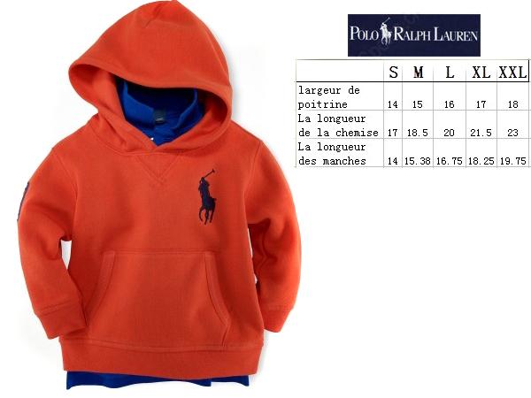 34be6d28eb8 polo ralph lauren veste enfants coton rouge