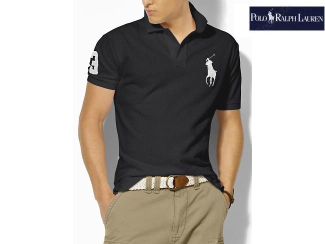 polo ralph lauren man tee shirt mode noir blanc plpo 5414. Black Bedroom Furniture Sets. Home Design Ideas