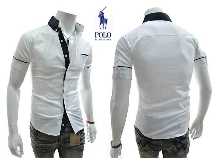 d4973dd81fd241 ralph lauren hommes 2014 chemises mode classique sauvage promotions g14  blanc
