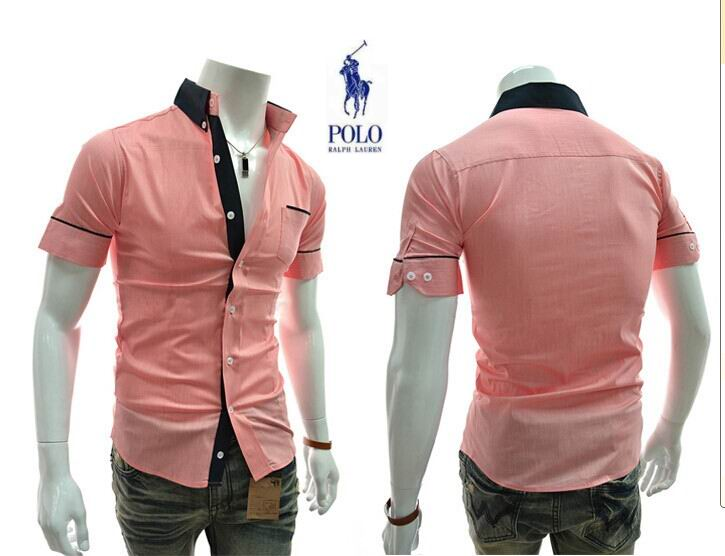 aef190f9f69a24 40.00EUR, ralph lauren hommes 2014 chemises mode classique sauvage  promotions g14 rouge