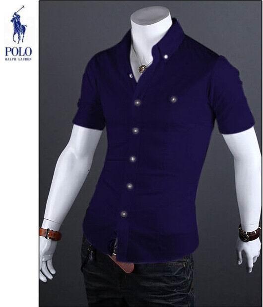 40.00EUR, ralph lauren nouveau chemises business casual homme coton  discount bleu 69ea37b18f73