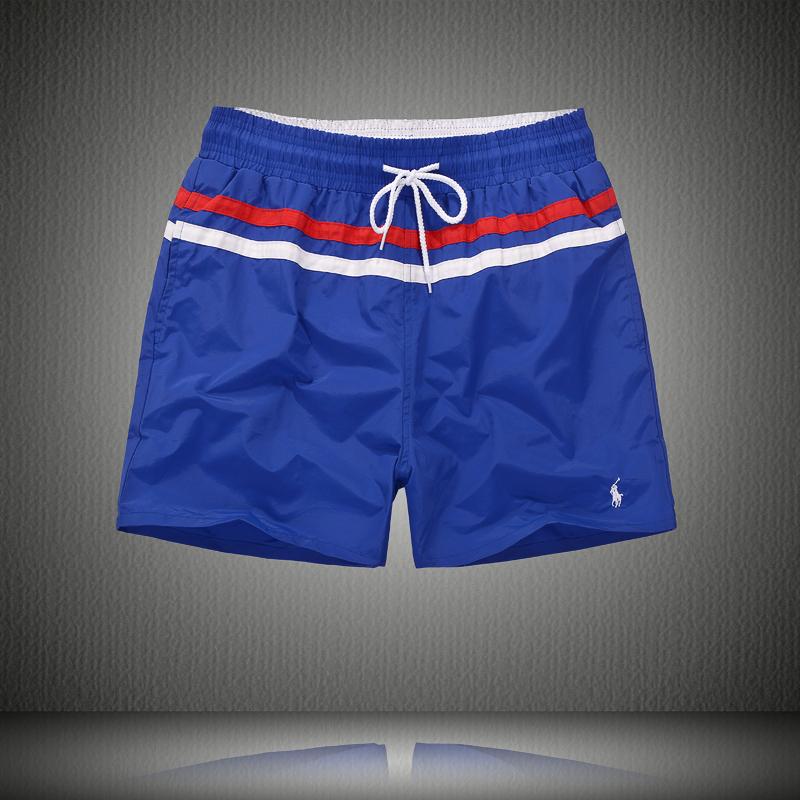 polo ralph lauren maillot de bain shorts de bain shorts hommes new style poney bleu blanc plpo. Black Bedroom Furniture Sets. Home Design Ideas