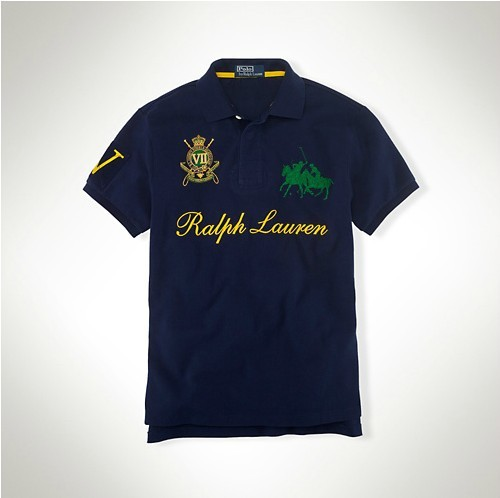 polo paris ralph lauren tee shirt chaud hommes tee shirt two pony sapphire. Black Bedroom Furniture Sets. Home Design Ideas