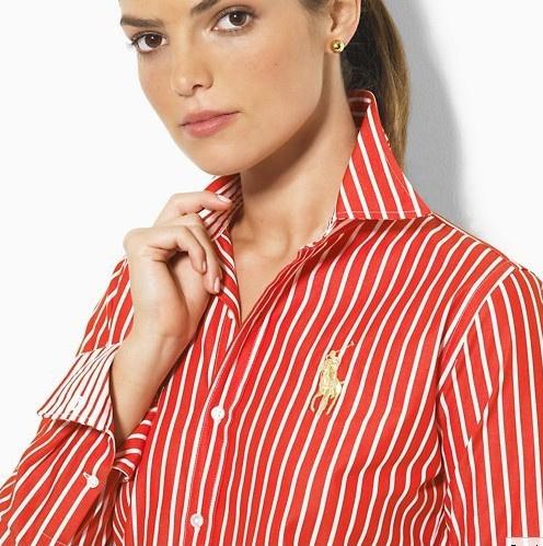 polo ralph lauren chemises big pony femmes mode rouge. 49d12cb470f3