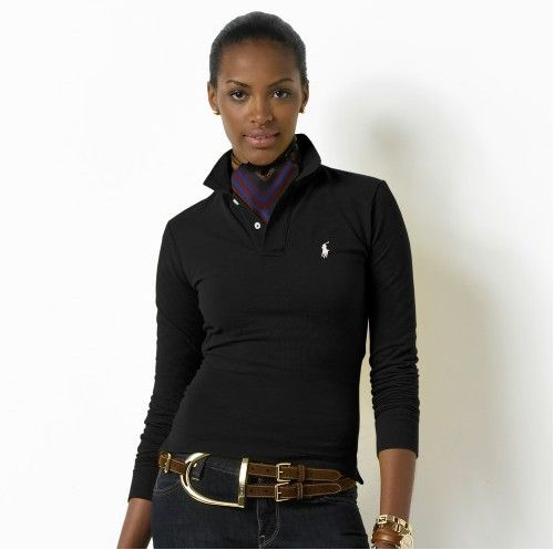 tee shirt polo ralph lauren manche longue femmes pony noir,vendre femmes polo  manches long 2d7597a98ca